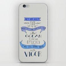 The Ocean..  iPhone & iPod Skin