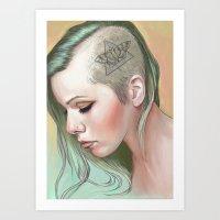 Caudal Lure Art Print