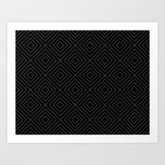 Black Squares Art Print
