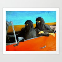 Women and Freedom Art Print