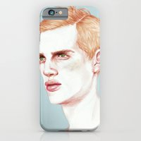iPhone Cases featuring Boy Bruised by Laura O'Connor