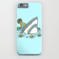 Birthday Shark II iPhone 6 Slim Case