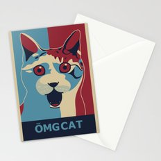 ✩ The OMG Cat Poster Stationery Cards