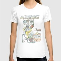 The Wonderful World of Water! Womens Fitted Tee White SMALL