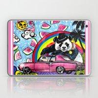 Miami Panda Laptop & iPad Skin