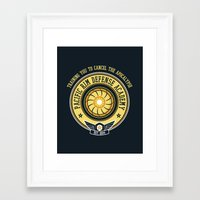 Pacific Rim Defense Acad… Framed Art Print