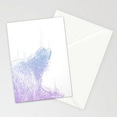 Line Bear Stationery Cards