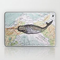 Narwhal in the Arctic Laptop & iPad Skin