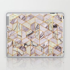 Vintage Marble Art Deco Pattern Laptop & iPad Skin