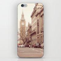 London Girl iPhone & iPod Skin