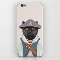 Pirate Cat iPhone & iPod Skin