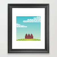 Chantily Castle I Framed Art Print