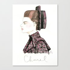 Chanel Haute Couture Fall 2013 Canvas Print