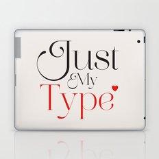 Just My Type Laptop & iPad Skin