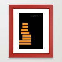 New York Skyline: New Museum Framed Art Print