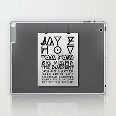 Eye Test - JAY Z Laptop & iPad Skin