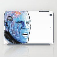 Electro Portrait drawing iPad Case