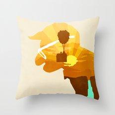 Carl's Dream Throw Pillow