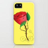 Rose iPhone (5, 5s) Slim Case