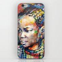 She - Portrait Of A Beau… iPhone & iPod Skin