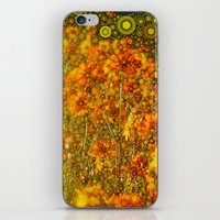 Perky Cosmos Abstract Bo… iPhone & iPod Skin
