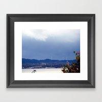 Wind Farm Framed Art Print