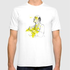 JoJones SMALL White Mens Fitted Tee