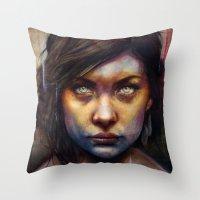 Una Throw Pillow