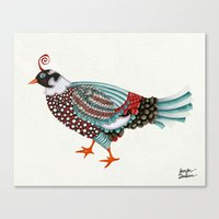 Pheasant Noble 2 Canvas Print
