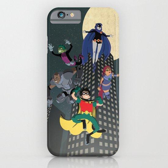 Teen Titans iPhone & iPod Case