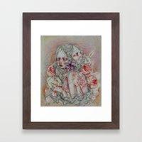 Lovely Skin Framed Art Print
