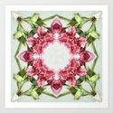 garden bulbs (pattern/pillow) Art Print