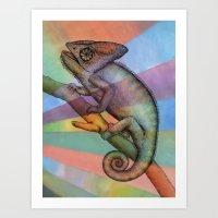 Chameleon (1) Art Print