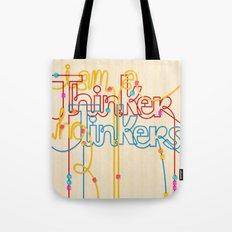 Tinkering Thinker Tote Bag