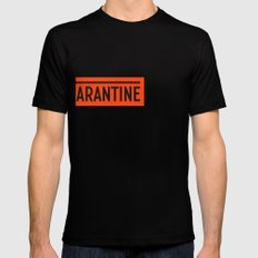 Quarantine Black Mens Fitted Tee SMALL