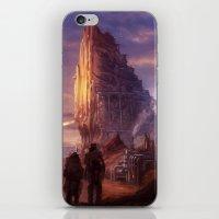 Desert Outpost iPhone & iPod Skin