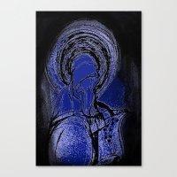 Saint Hildegard von Bingen Canvas Print