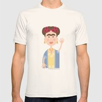 Mexican Wave Mens Fitted Tee Natural SMALL