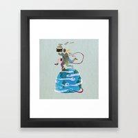 Fuga - Escape Framed Art Print