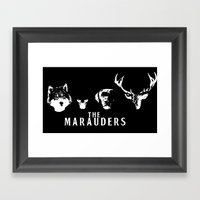 The Marauders Framed Art Print