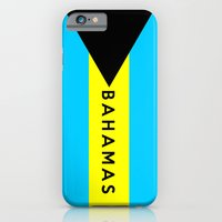 iPhone & iPod Case featuring bahamas country flag name text by tony tudor