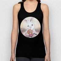 Ester and Bunny Unisex Tank Top