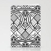 Monochrome Tribe Stationery Cards