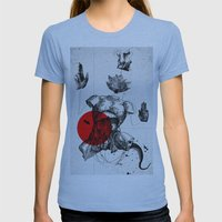The Body Womens Fitted Tee Athletic Blue SMALL
