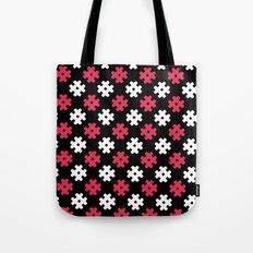 Hashtag Pattern Tote Bag