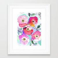 Aloha Flower Framed Art Print