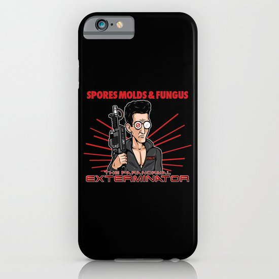 The Paranormal Exterminator iPhone & iPod Case