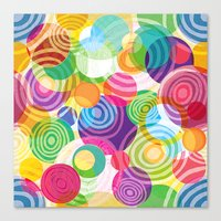 Circle-licious Sweetie Canvas Print