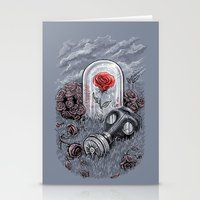 The Last Flower On Earth Stationery Cards