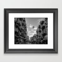 Hung Up To Dry Framed Art Print